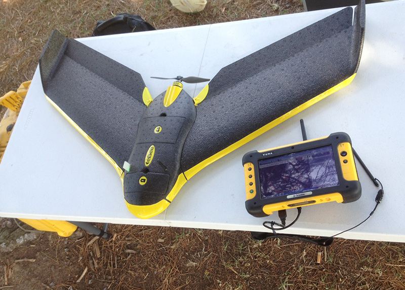 unmanned aerial mapping